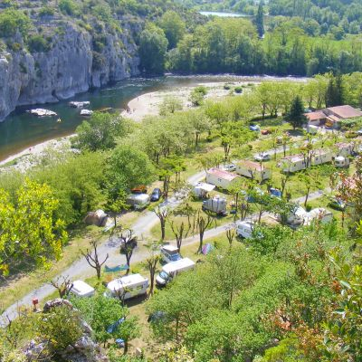 Camping Les Actinidias, Frankrijk - Ardèche - Casteljau